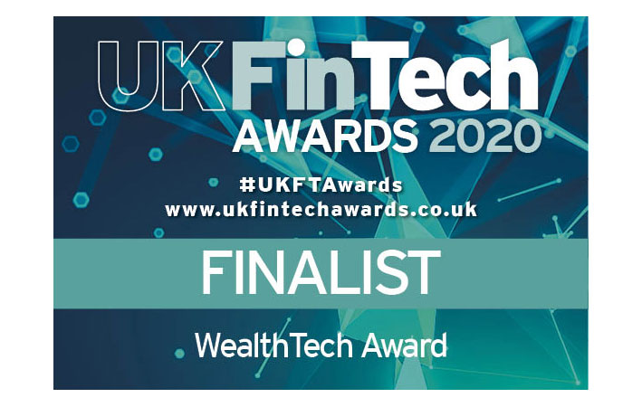 Flagstone shortlisted for UK WealthTech Award 2020